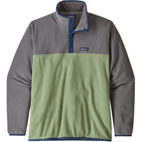 Patagonia Micro D Snap-T - Midlayer Hombre - gris/verde